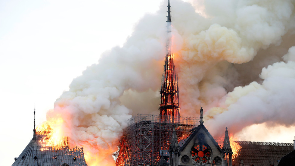 'Shock, catastrophe for Europe': World leaders react to Notre Dame fire
