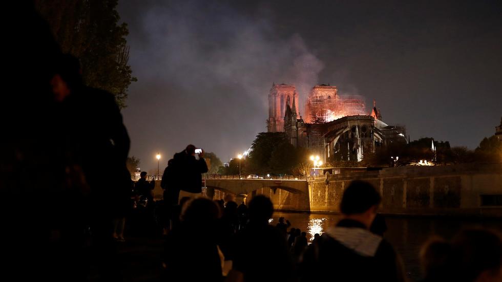 Huge blaze devastates Notre Dame Cathedral in Paris: How it unfolded