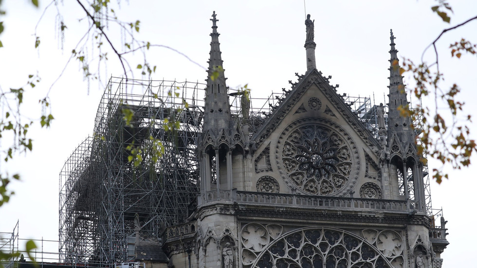 'How dare you!' French ambassador shames Ukrainian pundit for joking about Notre Dame blaze