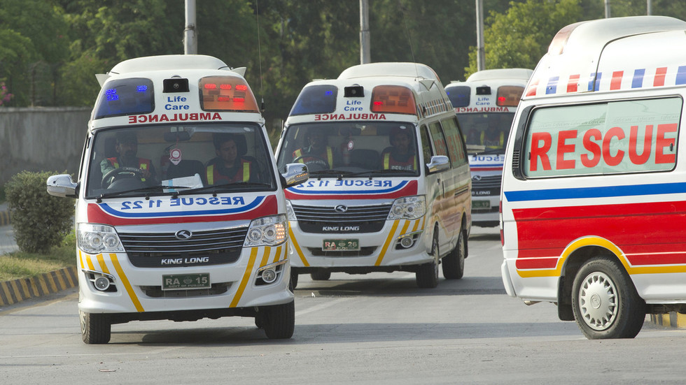 Gunmen ambush passenger bus in Pakistan, killing 14 – local officials