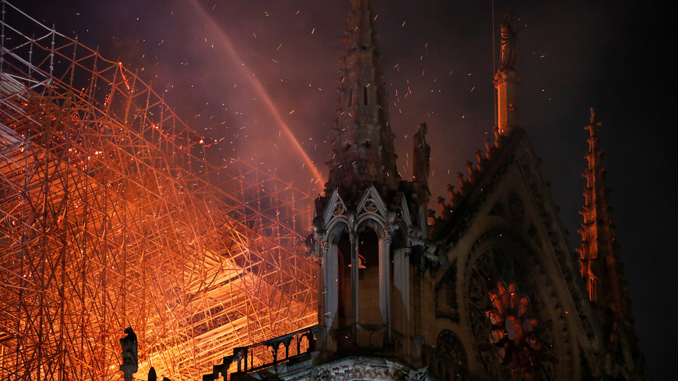 Investigators think electrical short-circuit most likely caused Notre Dame fire – French official