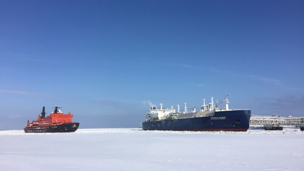 France's Total to invest in Russian LNG terminals in Arctic & Far East