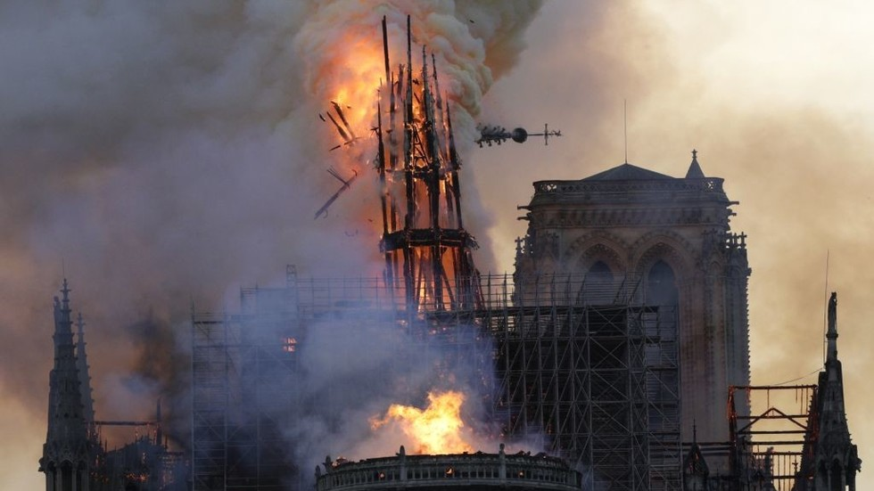 Did a COMPUTER GLITCH devastate Notre Dame? French cathedral's rector says maybe