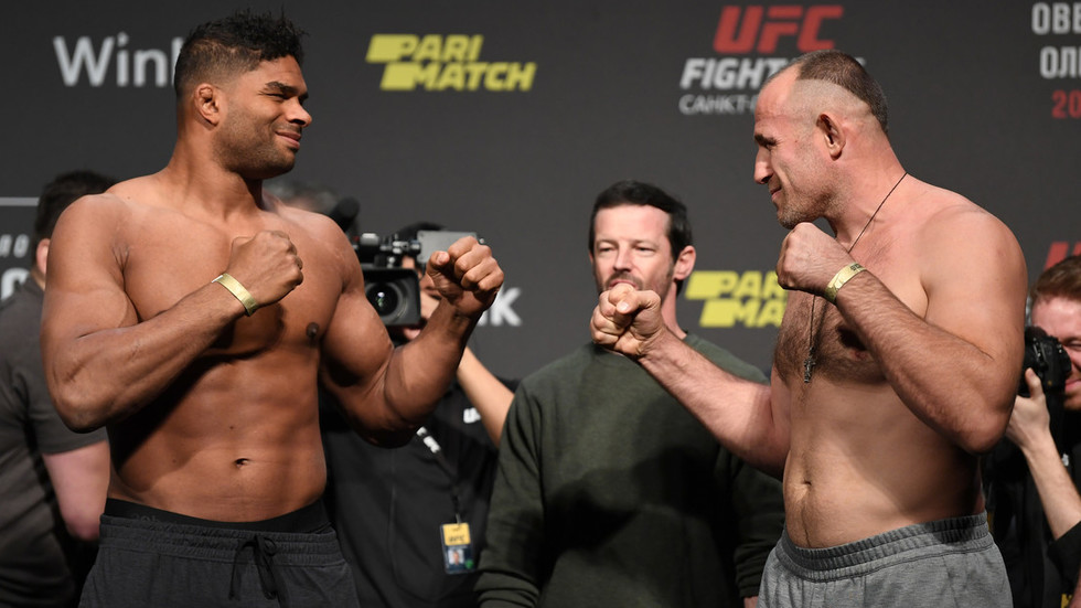 UFC St. Petersburg: Recap the action as Alistair Overeem ...