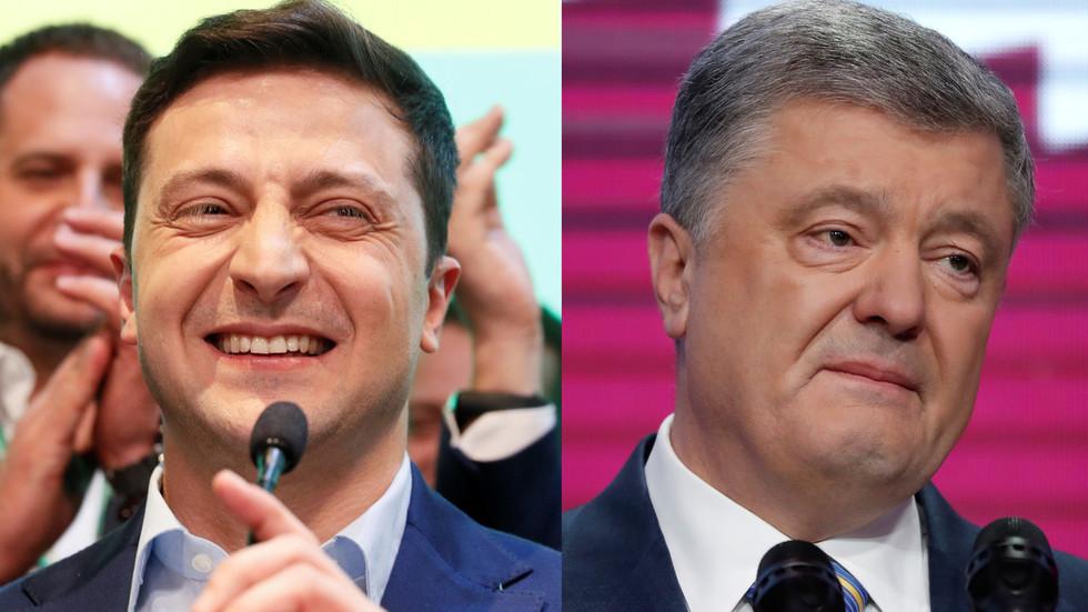 US & Europe react to Poroshenko's defeat by comedian Zelensky in Ukraine