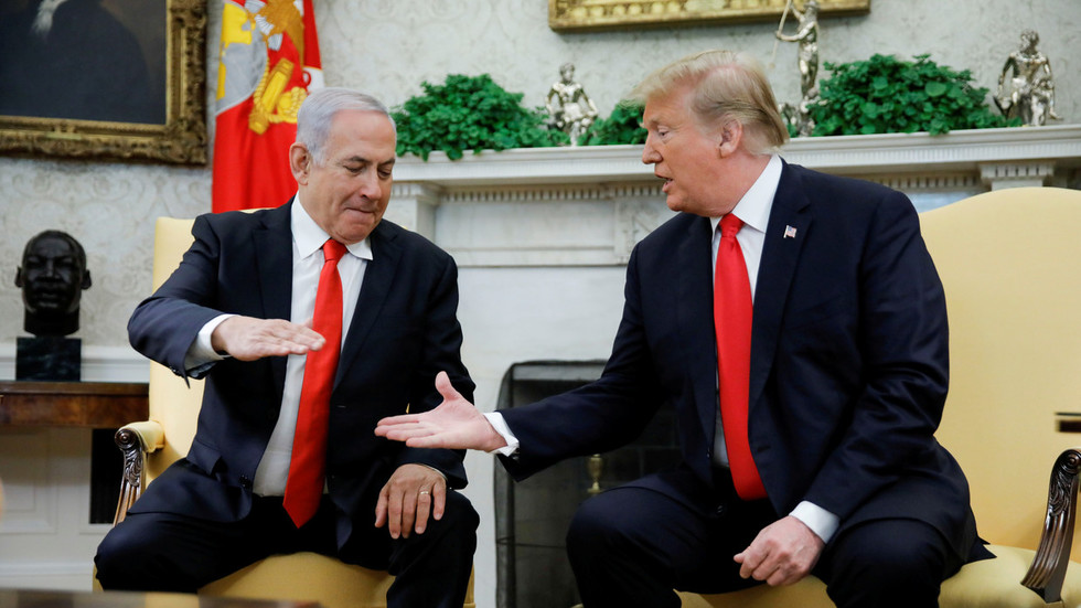 Welcome to Trumpopolis: Israeli PM Netanyahu's plan to name Golan town after Trump ridiculed online