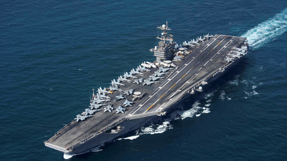 Mask off? US ambassador to Russia says US practices diplomacy with aircraft carriers