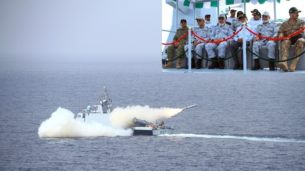 Pakistan's Navy fires domestically-made cruise missile in 'impressive fire power display'