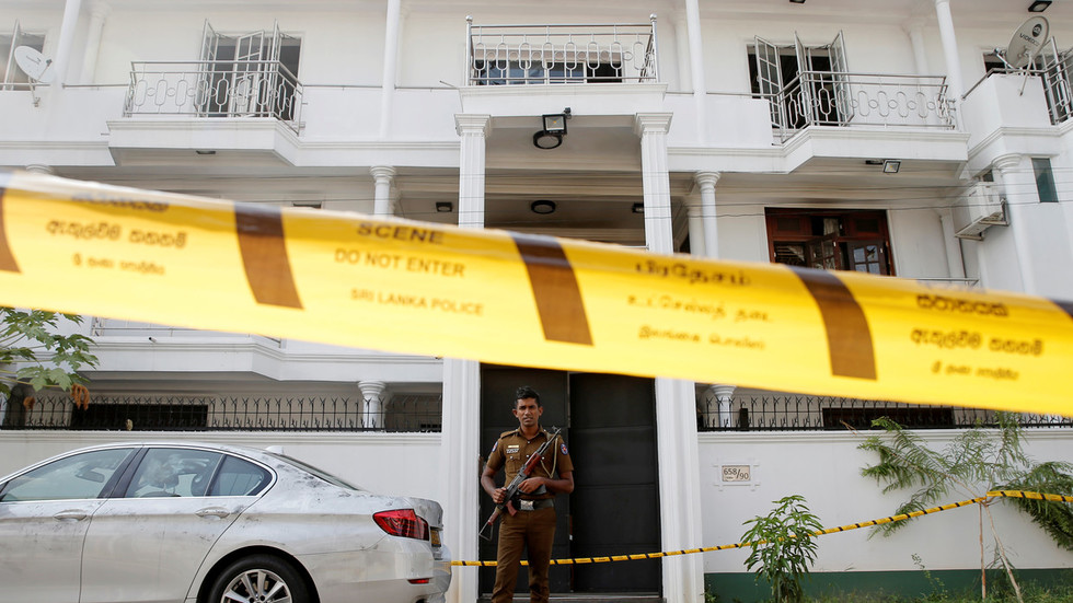 Pregnant wife of Sri Lanka bombings mastermind blew herself up with 3 kids – report