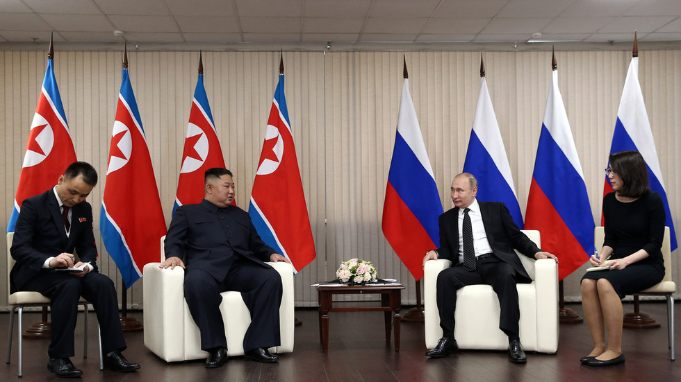 'We have no secrets from US': Putin says he is ready to tell Trump about Kim talks