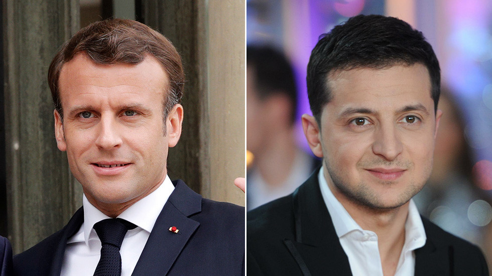 Russian prankster duo strikes again, say they tricked Macron with fake call from Ukraine's Zelensky