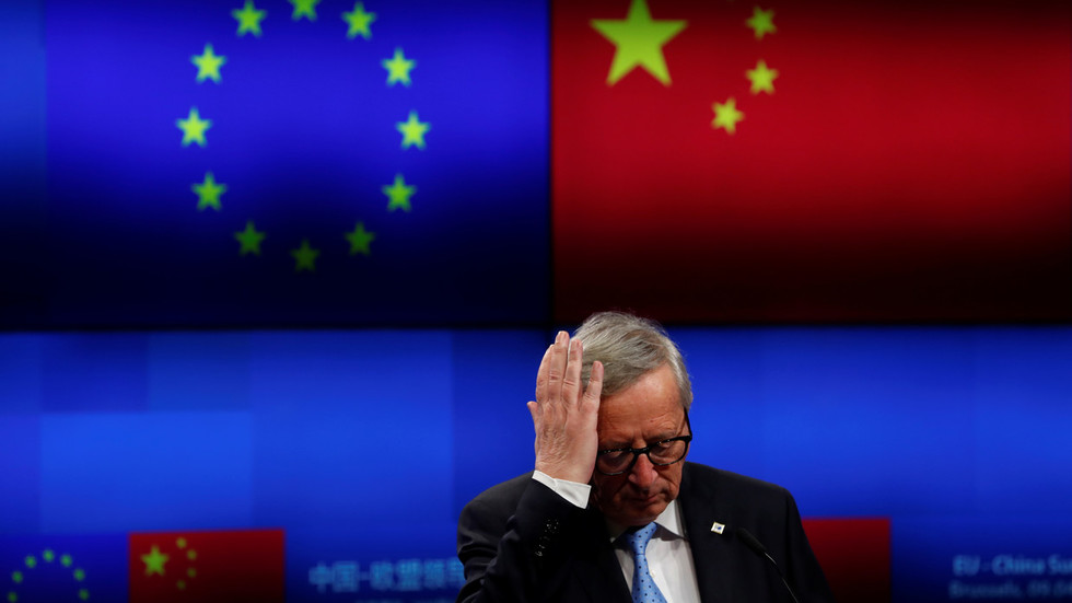 Juncker refuses to reject Huawei 'just because it's Chinese' amid US pressure'just because it's Chinese' amid US pressure