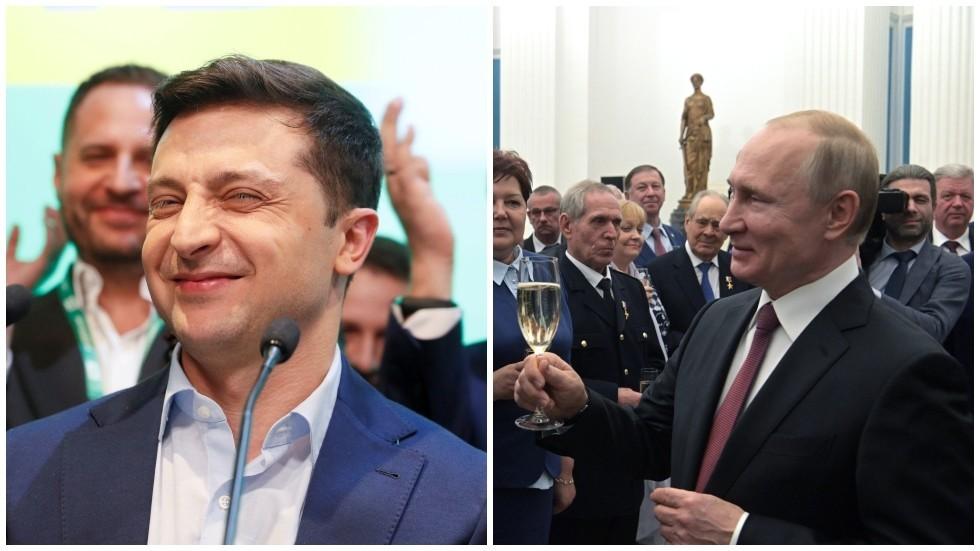 Passport sparring: Putin 'welcomes' idea of giving UKRAINIAN citizenship to Russians
