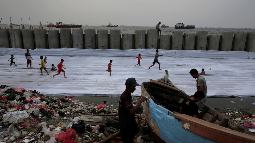Abandon ship! Indonesia plans to move capital city as it is slowly sinking underwater