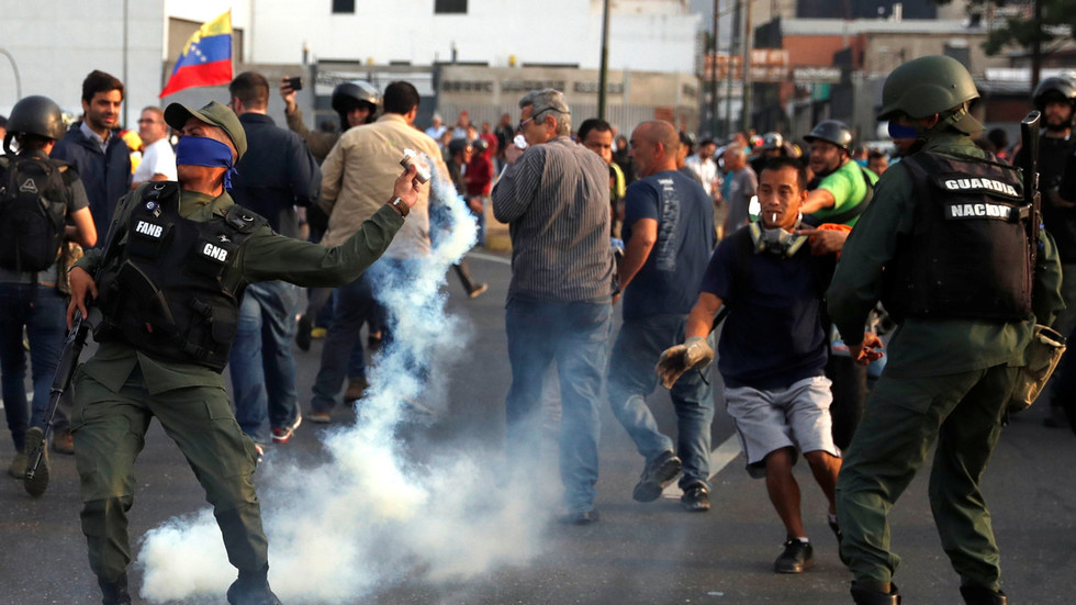 'Traitor troops' stage coup attempt in Venezuela – VP