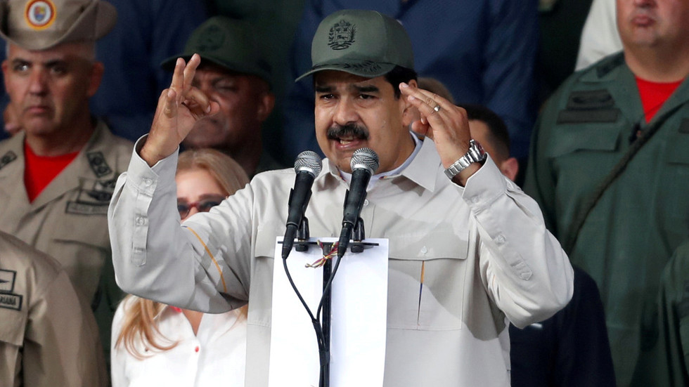 Venezuela's Maduro says he has spoken with military leaders who 'have shown him total loyalty'