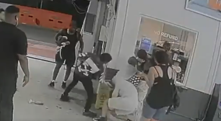 New video shows top boxing contender in brutal garage brawl