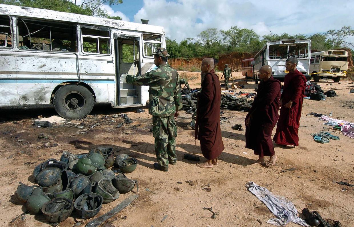 Sri Lanka's Easter Bombings Bring Renewed Violence To A Long-Troubled Country