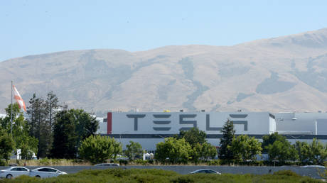 FILE PHOTO: Tesla factory in Fremont, US © Global Look Press / Andrej Sokolow
