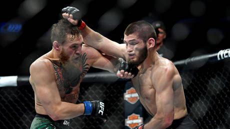 FILE PHOTO: UFC 229 at T-Mobile Arena, Las Vegas, Nevada © Reuters / Stephen R. Sylvanie / USA TODAY Sports