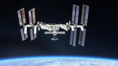 PHOTO: Rare sight of ISS passage against the Sun caught on camera