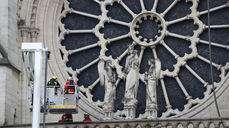 Police probe workers of third-generation roofing firm tasked with Notre Dame spire restoration