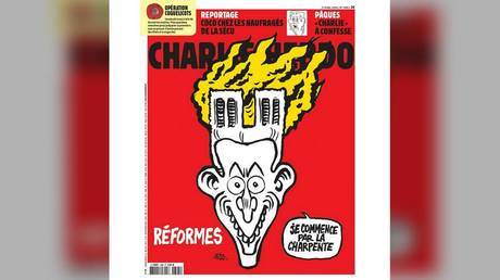 'No deaths – no irony?' French satirical mag 'hypocritical' for cartoon on Notre Dame fire