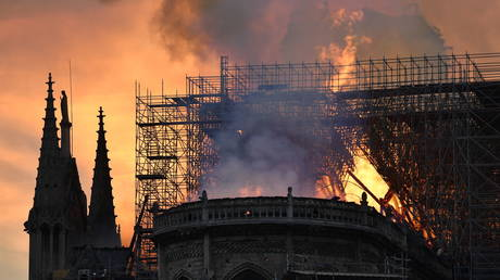 'Heartbreaking & terrible': Sports world mourns Notre Dame Cathedral destruction after horrific fire