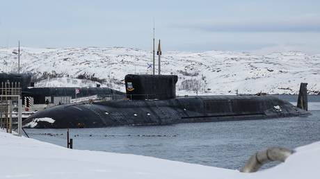 FILE PHOTO. The Borei-class nuclear submarine Yuri Dolgoruki. © Sputnik / Pavel Lvov