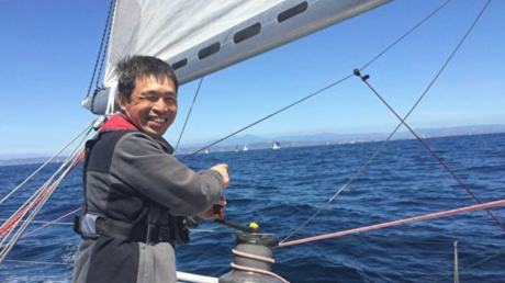 BLIND Japanese sailor completes pioneering non-stop Pacific crossing