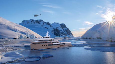 'First private icebreaker': Russian billionaire's superyacht to sail to Antarctic in 2021 (PHOTOS)