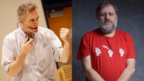 'Crustacean Jung v Cocaine Hegel': Zizek-Peterson debate blowout sparks meme war
