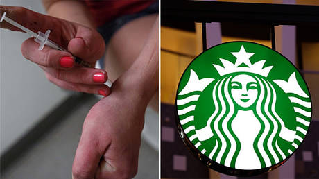 Starbucks rolls out drug needle disposal bins to follow up addict-friendly open bathroom policy