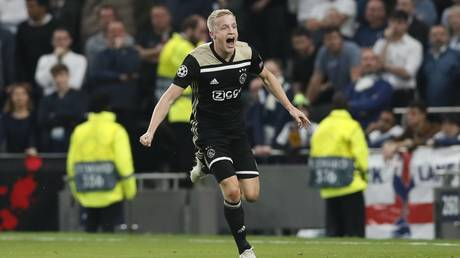 Assured Ajax beat tame Spurs to take control of Champions League semi-final