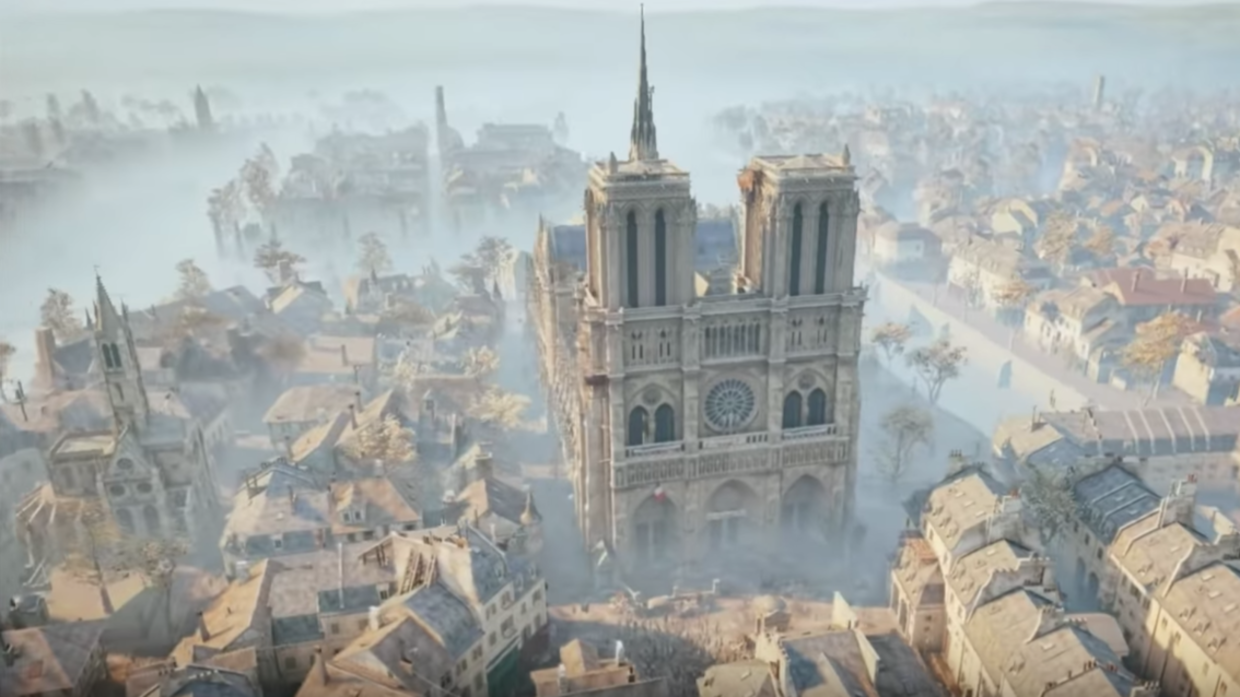 Assassin S Creed Unity Art Historian S Laser Scans May Prove