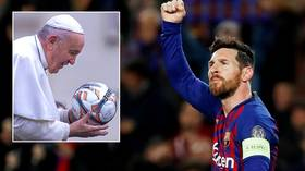 'He's good, but he isn't God': Pope Francis says Messi comparison is 'theoretical sacrilege'