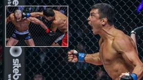 Meet the Russian who spoiled the party at Eddie Alvarez's ONE Championship debut: Timofey Nastyukhin