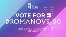 #Romanovs100 nominated for Webby Awards 'internet Oscar' & your vote counts!