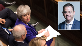 Parliamentarians laugh as Tory who quit PM May's government trolls PMQs