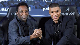 Football icon Pele hospitalized after attending event with Kylian Mbappe in Paris