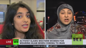 Show of respect or insult? Analysts clash on hijab-wearing Western women in Iran (VIDEO)
