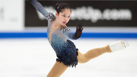 Pretty in pink: Russian figure skating star Medvedeva wows fans with latest outfit
