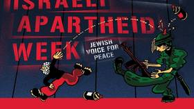 Horn or bump? Pro-Palestinian poster at Columbia University sparks accusations of anti-Semitism