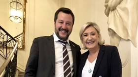 Salvini meets Le Pen in Paris, teases a 'major' right-wing event in Italy ahead of EU elections