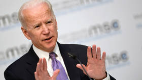 Biden jokes about consent in 1st speech after 7 women accused him of inappropriate touching