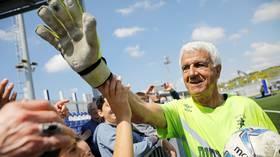 Goal-den oldie: Israeli keeper, 73, smashes record for world's oldest footballer