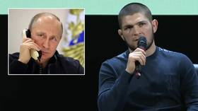 'When Putin phoned I was surrounded by police': Khabib details UFC 229 call from president (VIDEO)