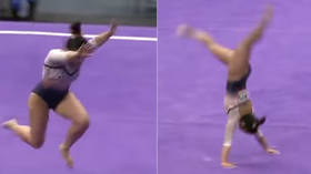 US gymnast breaks both legs in career-ending accident (GRAPHIC VIDEO)
