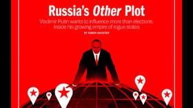 TIME sinks to new depths of hypocrisy and propaganda with latest cover story on scary Russia