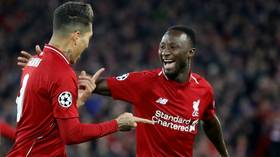 'A red all day long!': Salah shockingly escapes sending off for UCL horror tackle (PHOTOS/VIDEO)